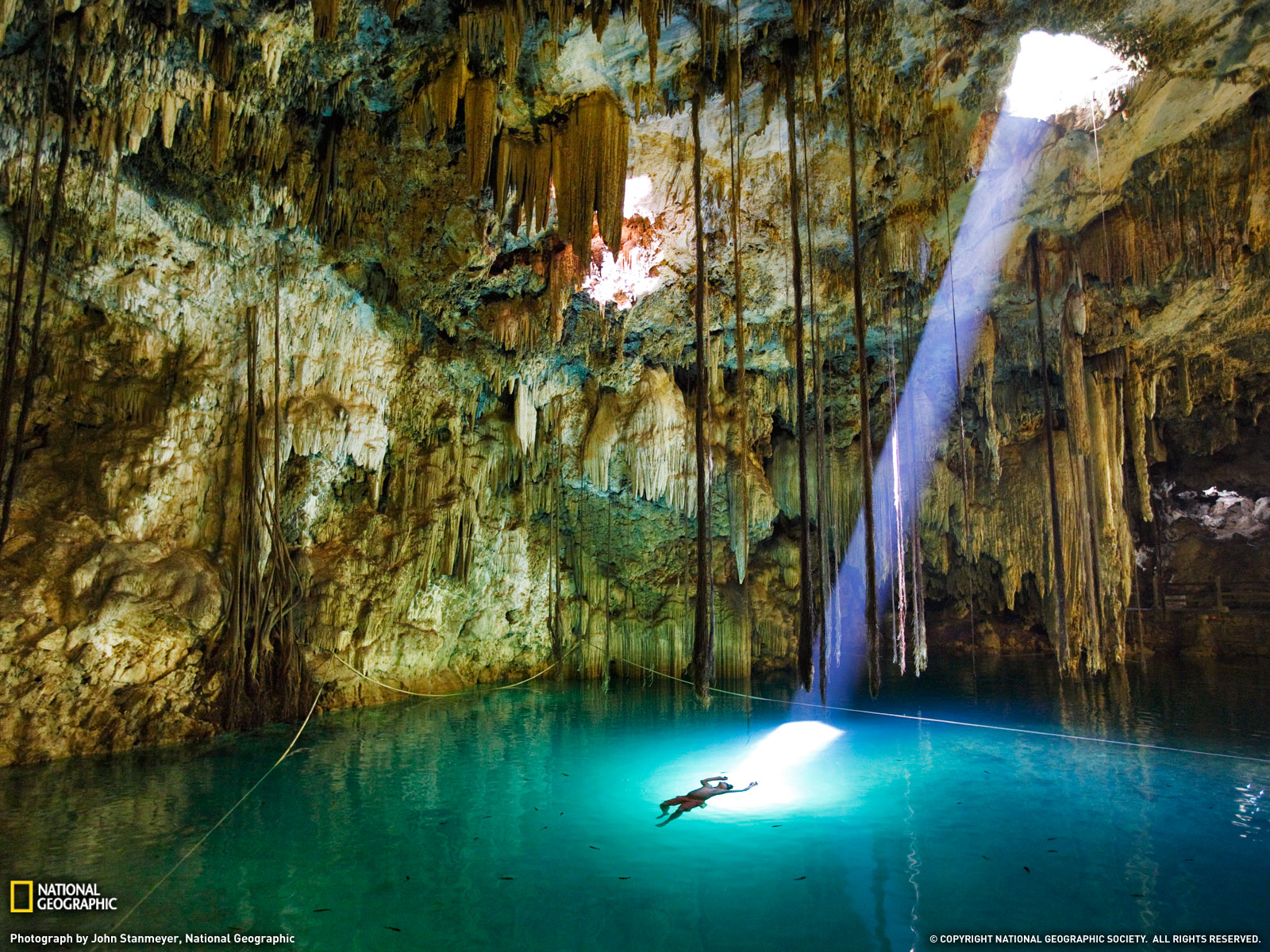 Xkeken Cenote  Mexico NATG Natural well in Mexico