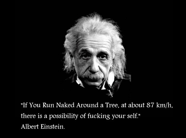 if you run naked around a tree If you run naked around a tree
