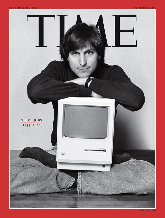 Time Magazine stops the presses for Special 21 page Steve Jobs Coverage