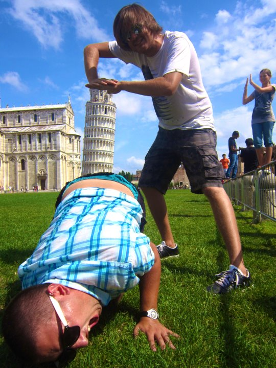 Meanwhile in Pisa Meanwhile in Pisa