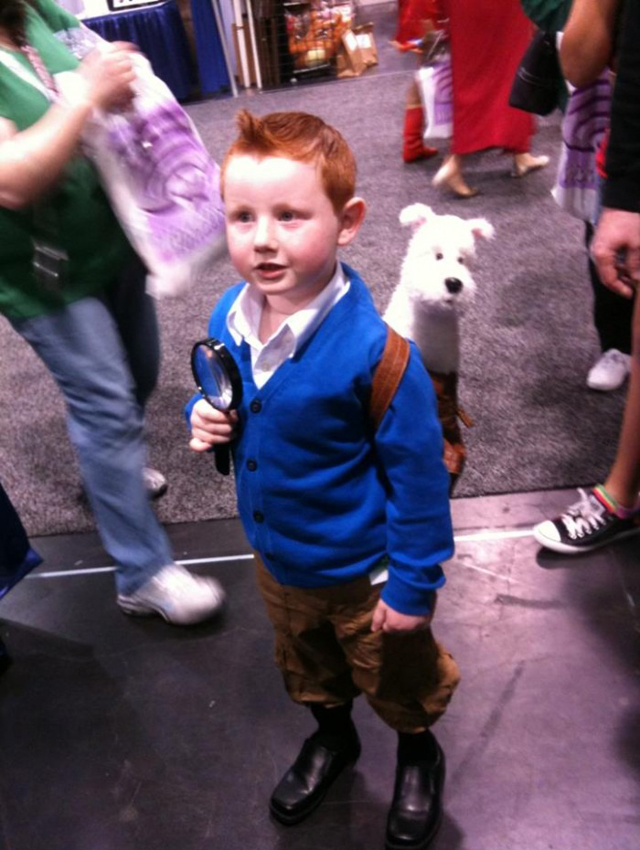 Tintin Tintin in real life