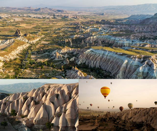 Ancient Region of Anatolia in Cappadocia, Turkey